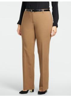 Heritage Ultimate Double-Weave Straight-Leg Pants