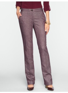 Curvy Donegal Tweed Trousers