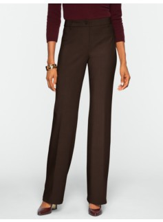Curvy Ultimate Double-Weave Bootcut Pants