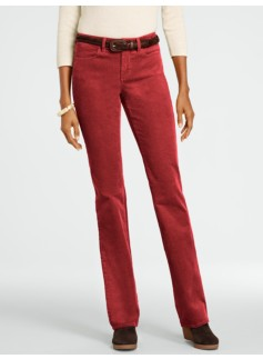 Slimming Curvy Bootcut Cords