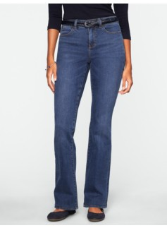 Slimming Curvy Dusk Wash Bootcut Jeans