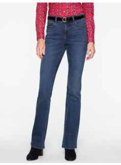 Slimming Heritage Dusk Wash Bootcut Jeans
