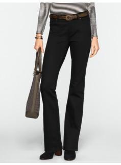 Slimming Heritage Black Bootcut Jeans