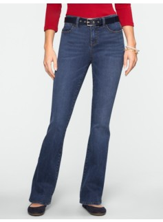 Slimming Signature Dusk Wash Bootcut Jeans