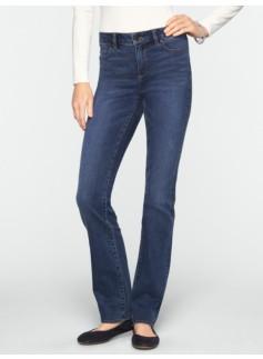 Slimming Heritage Dusk Wash Straight-Leg Jeans