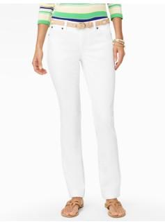 Slimming Signature Straight-Leg Jeans