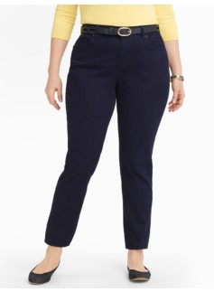 Slimming Heritage Midnight Wash Ankle Jeans