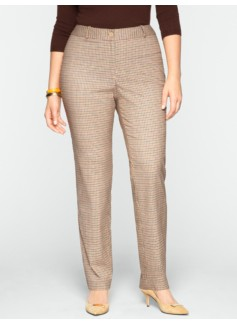 Heritage Derby Plaid Straight-Leg Pants