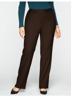 Heritage Italian Flannel Straight-Leg Pants