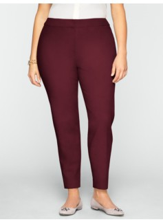 Heritage Ultimate Double-Weave Tailored Ankle Pants