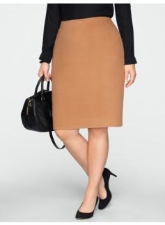 Double-Faced Pencil Skirt