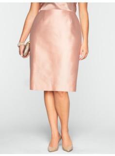 Doupioni Pencil Skirt