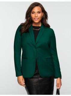 Two-Button Italian Flannel Jacket