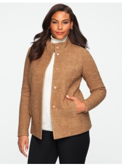 Pressed Boucl� Jacket