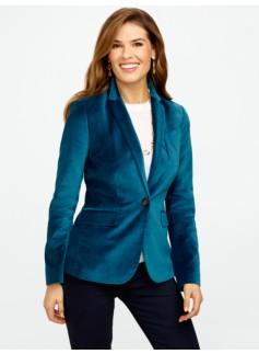 Plush Velvet Jacket