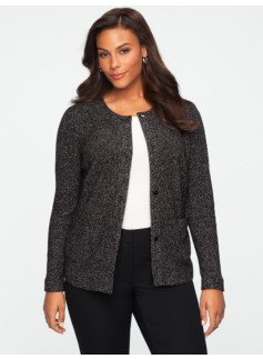 Speckled Boucl� Jacket