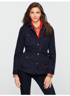 Belted Field Coat