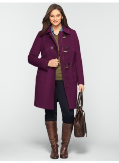 The Classic Toggle Coat with Full Lining