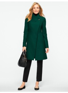 Refined Melton Coat