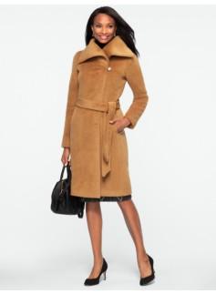 Luxe Alpaca Wool Belted Coat