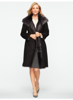 Longhair Shearling Coat