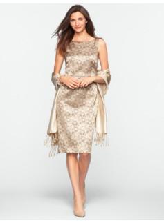 Socialite Jacquard Dress