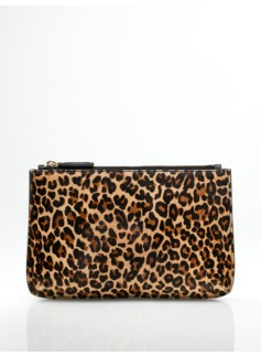 Animal Haircalf Pouch