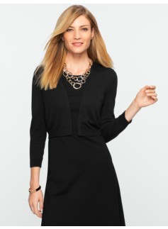 Ribbed Dress Shrug