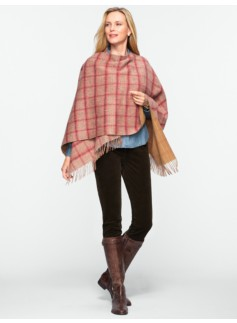 Reversible Plaid Wrap