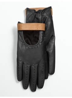 Leather Moto Gloves