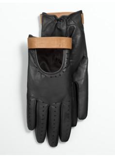 Leather Moto Gloves