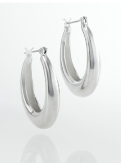 Tapered Oval Hoops
