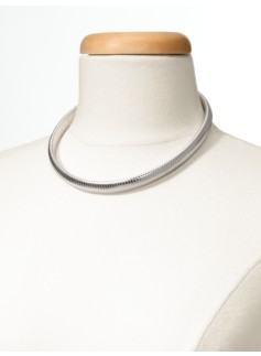 Cobra Chain Collar Necklace