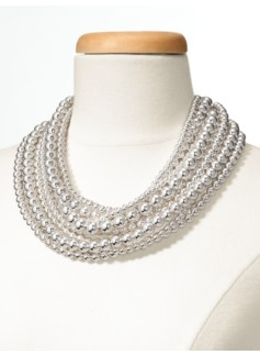 10-Row Bead Necklace