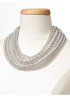 10-Row Bead Necklace
