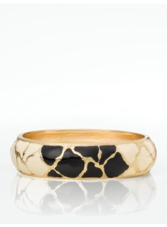 Giraffe Enamel Bangle