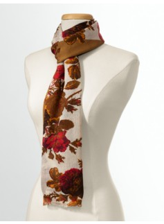Flower Bouquet Scarf