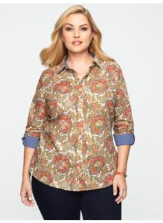 Floral Paisley Shirt
