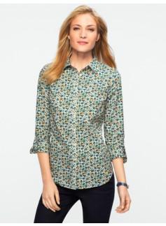 Flowers & Mushrooms Shirt