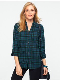 Fall Plaid Nantucket Shirt