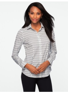 Wrinkle Resistant Buckle & Chain Shirt
