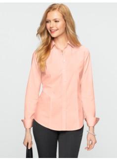 Wrinkle-Resistant Poplin Shirt