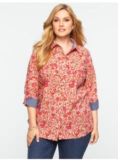 Painted Petunias Shirt