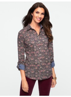 Floral Scroll Shirt