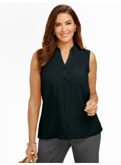 Talbots Nantucket Sleeveless Shirt