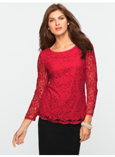 Autumn Lace Top