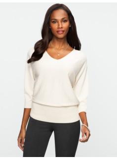 Dolman V-Neck Sweater