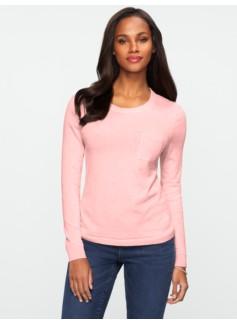 Zip-Back Pocket Sweater