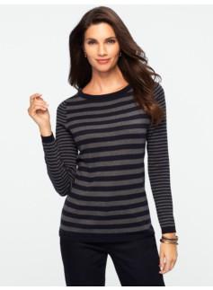 Blocked Stripes Sweater