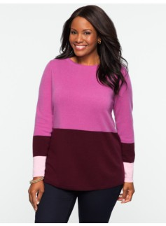 Cashmere Colorblocked Sweater